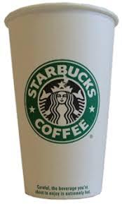 starbucks cup template