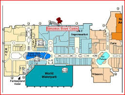west edmonton mall map