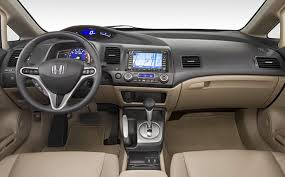 civic hybrid interior