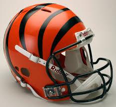 bengals helmets