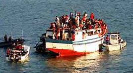 haiti boat people