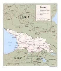 georgia political map