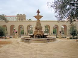 courtyard fountains