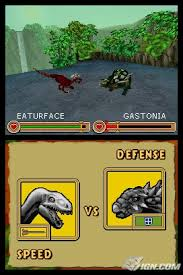 battle of the giants dinosaurs ds