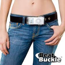 ipod belt buckle