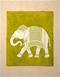 india elephant art