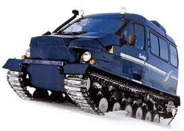 amphibious tracked vehicle