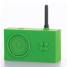 rubber radio