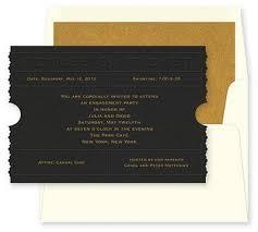 admission ticket invitation