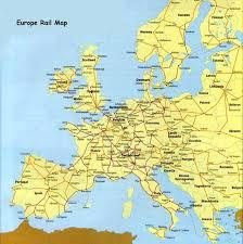 rail maps europe