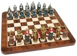 king arthur chess sets