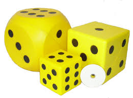 big foam dice