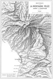 map of mount pelee