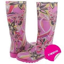 emilio pucci rain boot