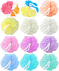 bath puffs