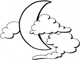 printable moon