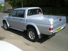 mitsubishi 4x4 pickup
