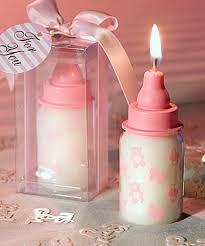 baby bottle candle