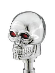 skull gear shift knob