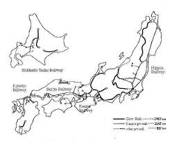 japan railroad map