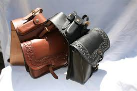 leather side bags
