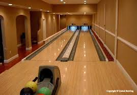 bowling alley lane