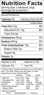 ice cream nutrition information
