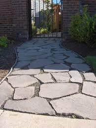 rock walkways