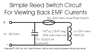 reed switch circuit