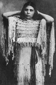 native american women model