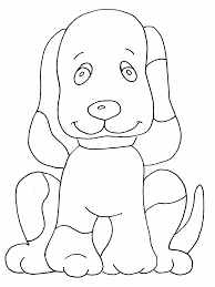 puppy pictures to color