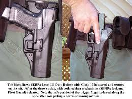 glock duty holster
