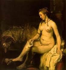rembrandt bathsheba