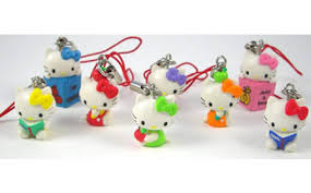 hello kitty cellphone charms