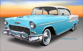chevrolet bel air 55
