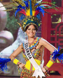 national costume of colombia
