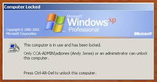 computer locked