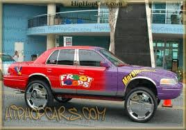 crown victoria with rims