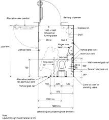 disabled toilet layouts