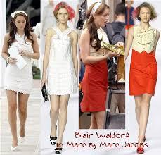 gossip girl blair dresses