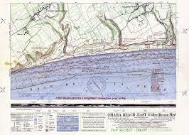 omaha beach map