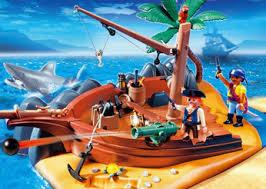 pirate island playset