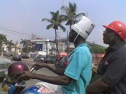 bikers helmets