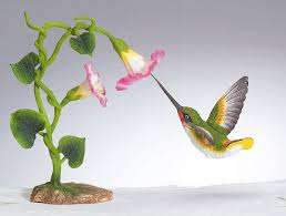 hummingbird statue