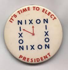 nixon campaign buttons