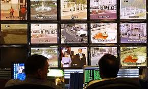 control room monitor