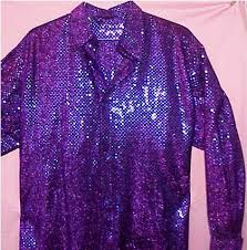 70s disco shirt