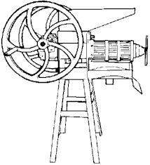 manual screw press