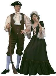 colonial times dresses