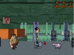 mr bean video games